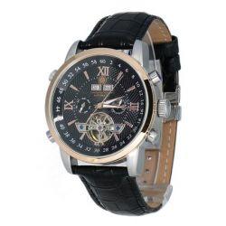 Constantin Durmont Herren-Armbanduhr Calendar Analog Automatik CD-CALE-AT-LT-STRG-BK