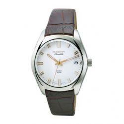 Dugena Herren-Armbanduhr XL Dugena Premium Analog Quarz Leder 7000111
