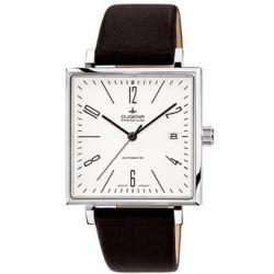 Dugena Herren-Armbanduhr Dugena Premium Analog Automatik Leder 7000323