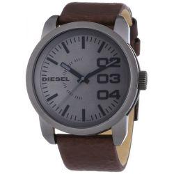 Diesel Herren-Armbanduhr XL Franchise-46 Analog Quarz Leder DZ1467