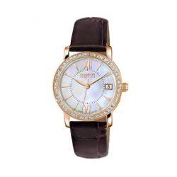 Dugena Damen-Armbanduhr XS Dugena Premium Analog Quarz Leder 7500157