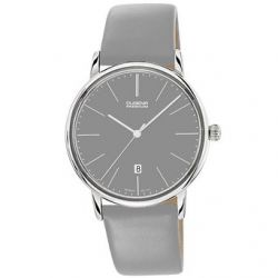 Dugena Herren-Armbanduhr XL Dugena Premium Analog Quarz Leder 7000231