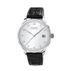 Dugena Herren-Armbanduhr XL Dugena Premium Analog Quarz Leder 7000252