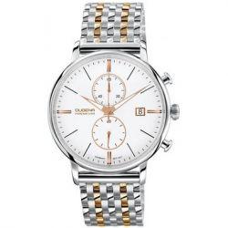 Dugena Herren-Armbanduhr XL Dugena Premium Chronograph Quarz Edelstahl 7090169