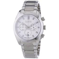Dugena Herren-Armbanduhr XL Dugena Premium Chronograph Quarz Edelstahl 7090163