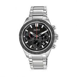 Dugena Herren-Armbanduhr XL Dugena Premium Chronograph Quarz Edelstahl 7090172