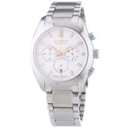 Dugena Herren-Armbanduhr XL Dugena Premium Chronograph Quarz Edelstahl 7090164