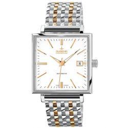 Dugena Herren-Armbanduhr Dugena Premium Analog Handaufzug Edelstahl 7090321