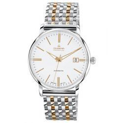 Dugena Herren-Armbanduhr XL Dugena Premium Analog Automatik Edelstahl 7090191