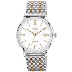 Dugena Herren-Armbanduhr XL Dugena Premium Analog Automatik Edelstahl 7090195
