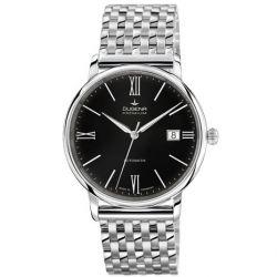 Dugena Herren-Armbanduhr XL Dugena Premium Analog Automatik Edelstahl 7090196