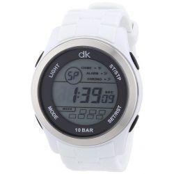 dk daniel khone Herren-Armbanduhr XL Digital Quarz Silikon DKGA-90567-15P