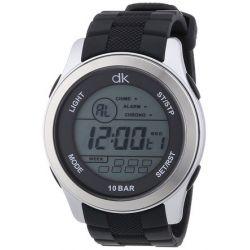 dk daniel khone Herren-Armbanduhr XL Digital Quarz Silikon DKGA-90451-85P