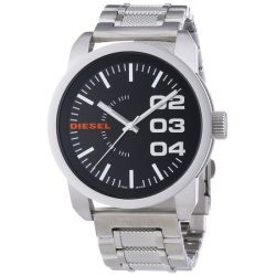 Diesel Herren-Armbanduhr XL Franchise-46 Analog Quarz Edelstahl DZ1370