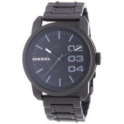 Diesel Herren-Armbanduhr XL Franchise-46 Analog Quarz Edelstahl beschichtet DZ1371