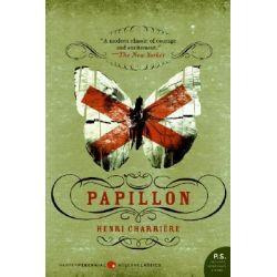 Papillon by Henri Charriere, 9780061120664.