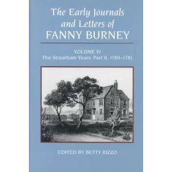 The Early Journals and Letters of Fanny Burney, Vol IV by Fanny Burney, 9780773505292.