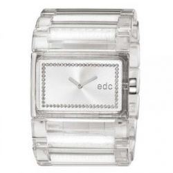 Edc Damen-Armbanduhr Flashy Crossover Analog Quarz Plastik EE900202011