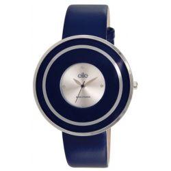 Elite Damen-Armbanduhr E53142-208 Analog Quarz Blau E53142-208