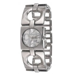 Elite Damen-Armbanduhr E53204-204 Analog Quarz Silber E53204-204
