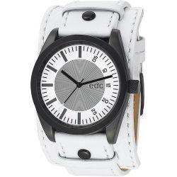 Edc Herren-Armbanduhr XL Chillin Dude Analog Quarz Kunstleder EE100341007