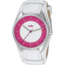 Edc Damen-Armbanduhr Cuff Sunrise Analog Quarz Kunstleder EE100912001