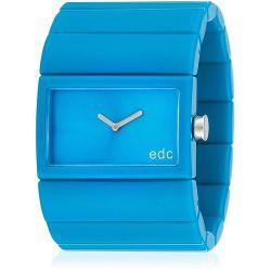 Edc Damen-Armbanduhr Jazzy Crossover Analog Quarz Plastik EE900202015