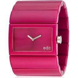 Edc Damen-Armbanduhr Jazzy Crossover Analog Quarz Plastik EE900202012