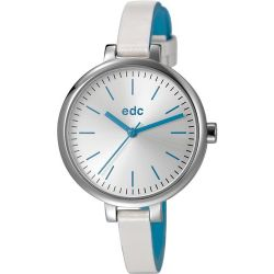 edc by Esprit Damen-Armbanduhr slim allure Analog Quarz Plastik EE101162003