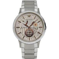 Emporio Armani Herren-Armbanduhr Chronograph Handaufzug Edelstahl AR4668