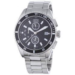 Esprit Herrenuhr velocity chrono silver black A.ES102491004