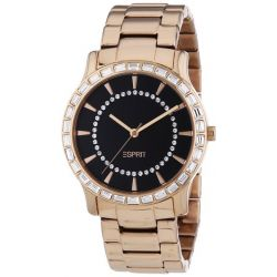 Esprit Damen-Armbanduhr Carmel Analog Quarz Edelstahl ES104512004