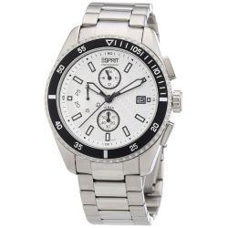 Esprit Herrenuhr velocity chrono silver black A.ES102491005