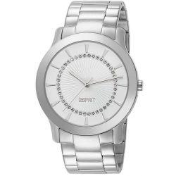 Esprit Damen-Armbanduhr Carmel Silver Analog Quarz Edelstahl ES104502004