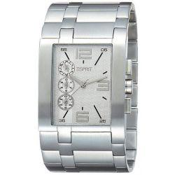 Esprit Herren-Armbanduhr Houston Bold Man Silver Chronograph Quarz Edelstahl ES103891001