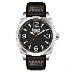 Everlast Herren-Armbanduhr 33-215 Analog leder schwarz EV-215-003