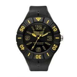 Everlast Unisex-Armbanduhr 33-217 Analog Kunststoff schwarz EV-217-003