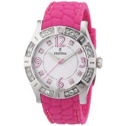 Festina Trend Dream Collection Damen Uhr Silikonband Pink F16541/7