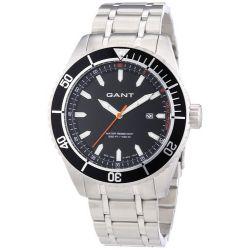 GANT Herren-Armbanduhr XL Analog Quarz Edelstahl W70391
