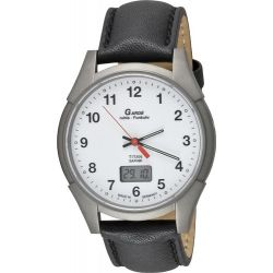 Garde Uhren aus Ruhla Funkuhr Herrenfunkuhr Titan / Saphirglas Classic 2-1A