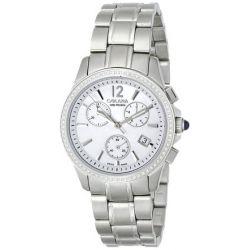 Golana Aura Pro Swiss made Ladies Diamond Set Chronograph Watch Damenuhr AU200.5