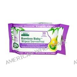 Aleva Naturals, Bamboo Baby Wipes, Scented, 30 Wipes