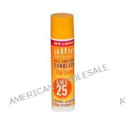 Alba Botanica, Very Emollient Sunblock, Lip Care, SPF 25, .15 oz (4.2 g)