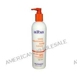 Alba Botanica, Very Emollient Body Lotion, Daily Shade Formula, SPF 16, 12 fl oz (350 ml)
