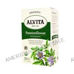 Alvita Teas, Organic Passionflower Tea, Caffeine Free, 24 Tea Bags, 1.13 oz (32 g)
