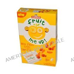 Andros Fruit Me Up!, Mini Fruit Bites, Banana and Pineapple Passion Fruit, 6 Pouches, 0.74 oz (21 g) each