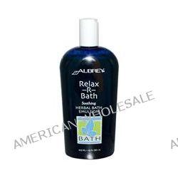 Aubrey Organics, Relax-R-Bath, Herbal Bath Emulsion, 16 fl oz (473 ml)