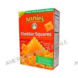 Annie's Homegrown, Cheddar Squares, Baked Snack Crackers, 7.5 oz (213 g)