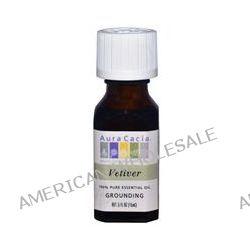 Aura Cacia, 100% Pure Essential Oil, Vetiver, .5 fl oz (15 ml)