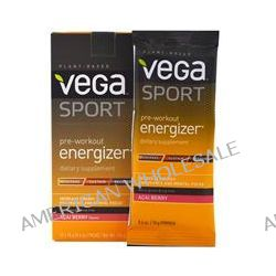 Vega, Sport, Pre-Workout Energizer, Acai Berry Flavor, 12 Packs, 0.6 oz (18 g) Each
